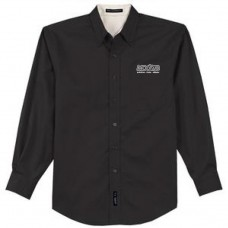 Black Button Up Shirt (Men)